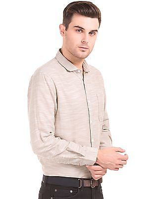 Ruggers Slub Weave Regular Fit Shirt