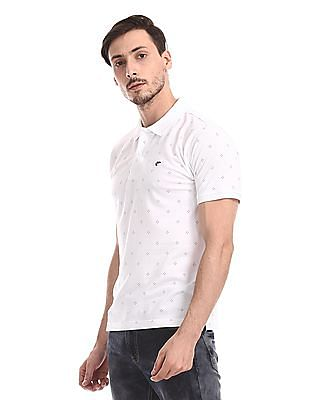 Ruggers Short Sleeve Printed Polo Shirt
