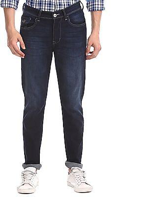Flying Machine Blue Prince Slim Fit Dark Wash Jeans
