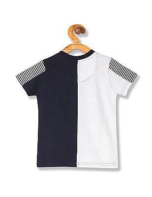 Cherokee Boys Printed Crew Neck T-Shirt