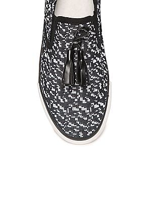 SUGR Contrast Sole Slip-On Shoes