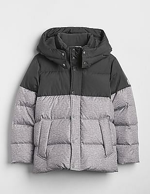 GAP Toddler Boy Grey ColdControl Max Puffer Jacket