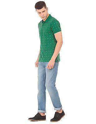 Ruggers Printed Pique Polo Shirt