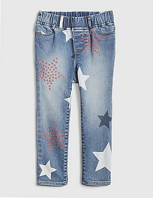 GAP Baby Superdenim Star Jeggings With Fantastiflex