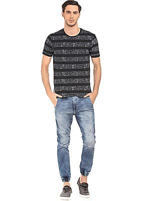 Ed Hardy Crew Neck Cotton T-Shirt