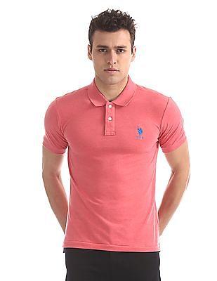 85ff07a71 Buy Mens USTS5843 Cranberry Melange Mens T-Shirt online at NNNOW.com