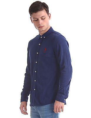 U.S. Polo Assn. Regular Fit Pique Knit Shirt