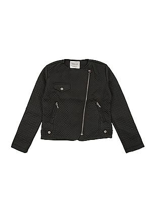 Cherokee Girls Quilted Biker Jacket