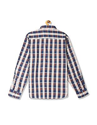 Flying Machine Long Sleeve Check Shirt