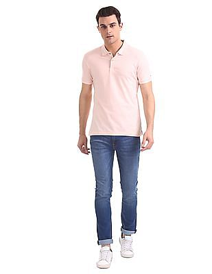 Arrow Newyork Regular Fit Solid Polo Shirt