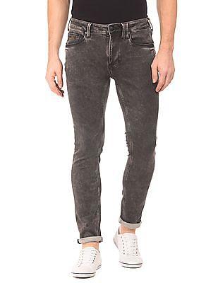 Ed Hardy Acid Wash Super Slim Fit Jeans