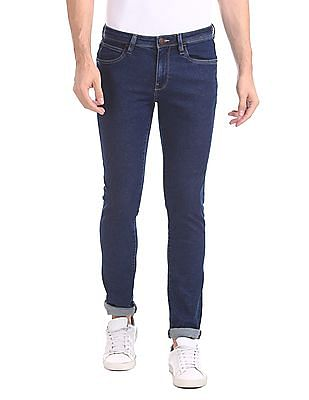 Arrow Sports Skinny Fit Rinsed Jeans