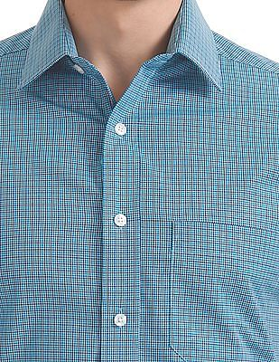 Arrow Short Sleeve Check Shirt