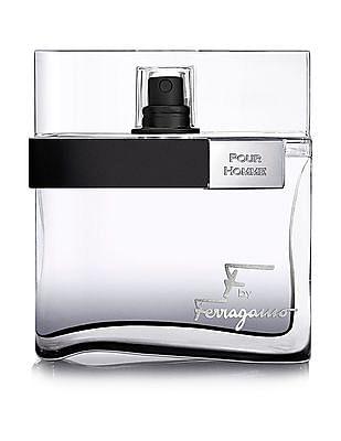 Salvatore Ferragamo F By Ferragamo Black Pour Homme Eau De Toilette