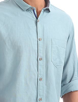 Cherokee Contemporary Fit Solid Shirt