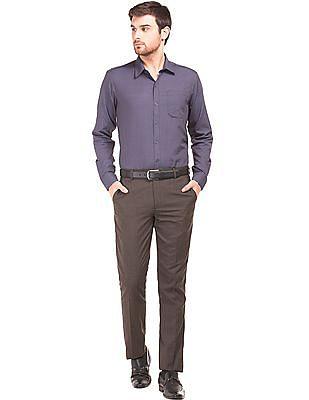 Excalibur Solid Regular Fit Shirt