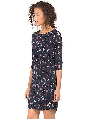 Arrow Woman Floral Print Sheath Dress