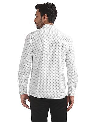 Ruggers Printed Regular Fit Shirt