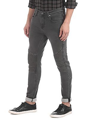 Ed Hardy Super Slim Fit Stone Washed Jeans