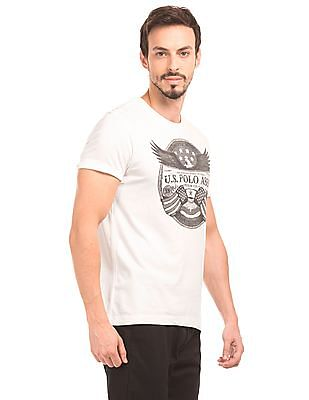 U.S. Polo Assn. Denim Co. Printed Front T-Shirt