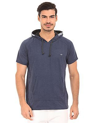 Colt Heathered Hooded T-Shirt