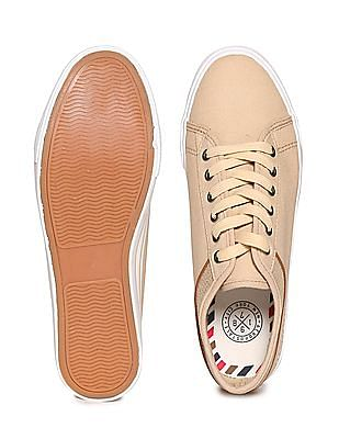 Aeropostale Striped Trim Lace Up Sneakers
