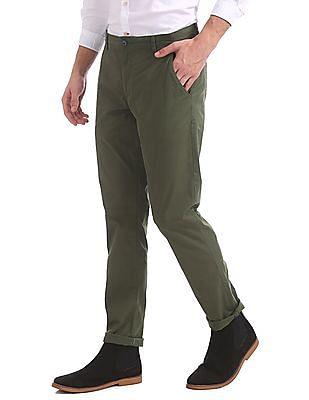 Ruggers Urban Slim Fit Twill Trousers