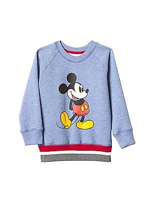 GAP Baby Mickey Mouse Crew Sweatshirt
