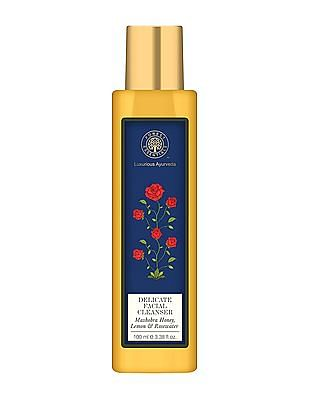FOREST ESSENTIALS Delicate Facial Cleanser With Mashobra Honey, Lemon, Rosewater - Normal Towards Dry Skin