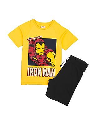 FM Boys Boys T-Shirt And Shorts Set