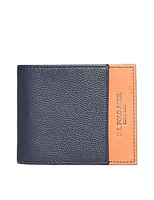 U.S. Polo Assn. Pebblegrain Leather Wallet