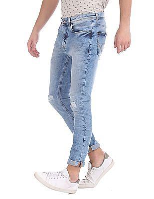 Cherokee Skinny Fit Distressed Jeans