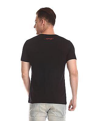 Ed Hardy Printed Cotton Bamboo T-Shirt