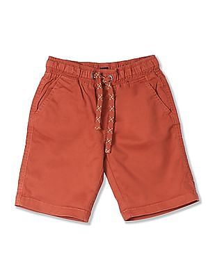Cherokee Boys Slim Fit Drawstring Waist Shorts