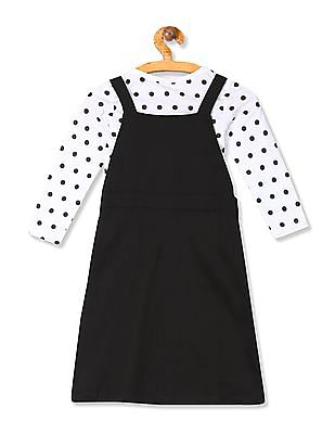 Colt Girls Mickey Mouse Dungaree Dress