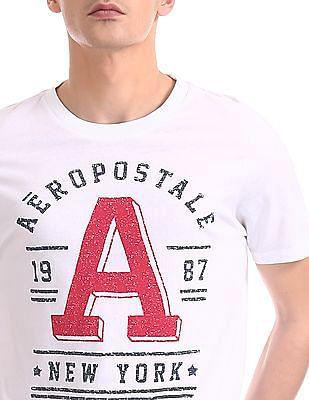 Aeropostale Regular Fit Brand Print T-Shirt
