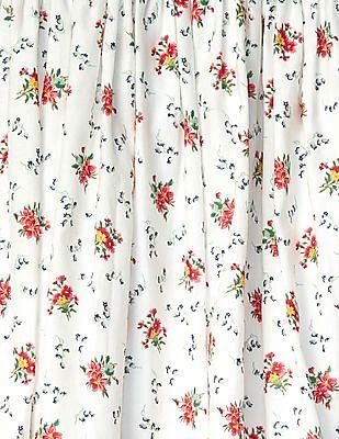 GAP Girls Floral Flannel Flippy Skirt