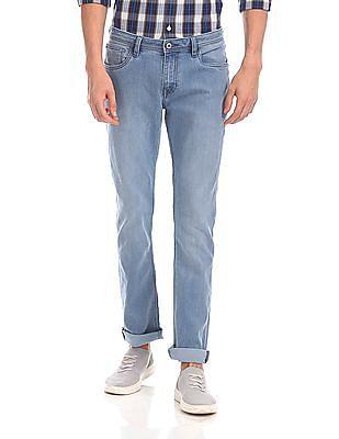 Arrow Sports James D Slim Fit Stone Wash Jeans