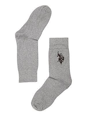U.S. Polo Assn. Heathered High Ankle Socks