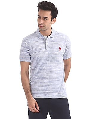 U.S. Polo Assn. Regular Fit Slub Knit Polo Shirt