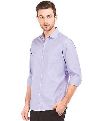 Excalibur Patterned Slim Fit Shirt