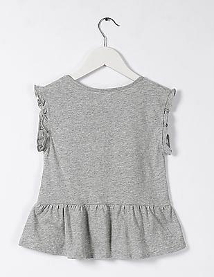 GAP Baby Ruffle Knit Top