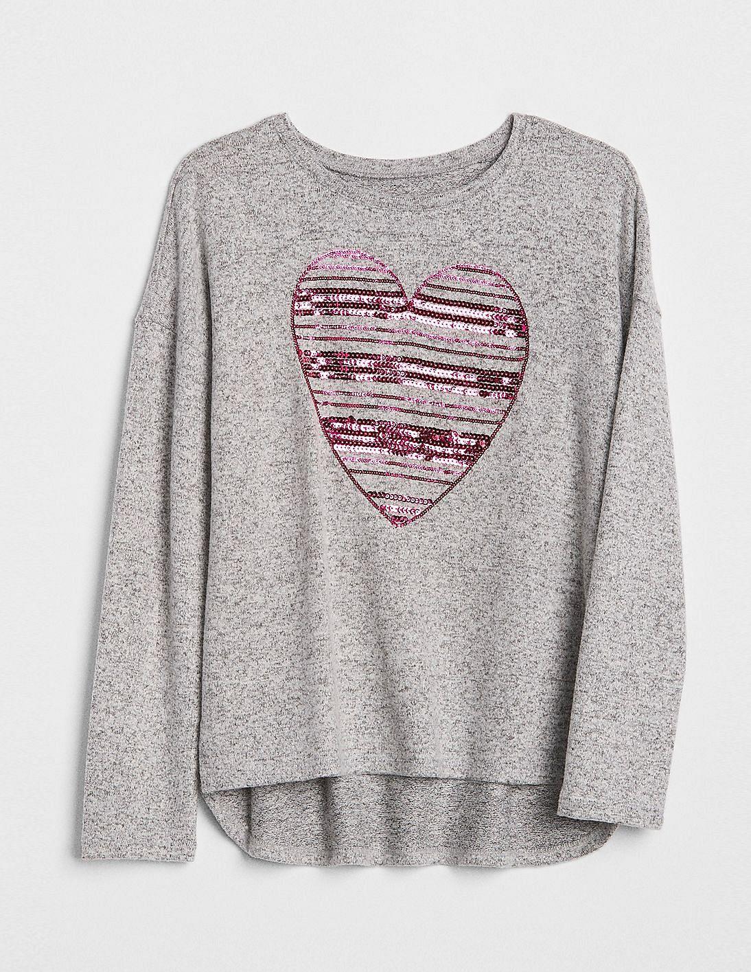 32d4abec Buy Girls Girls Softspun Sequin Graphic T-Shirt online at NNNOW.com