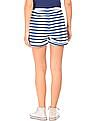 SUGR Striped Belted Shorts