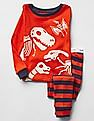 GAP Baby Orange Dino Pals Sleep Set