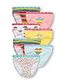 The Children's Place Toddler Girl Assorted Rainbow Briefs 7-Pack