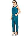 EdHardy Women Overdyed Buttoned Bodice Jumpsuit