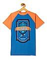 U.S. Polo Assn. Kids Boys Crew Neck Colour Block T-Shirt