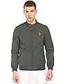U.S. Polo Assn. Stand Collar Panelled Jacket