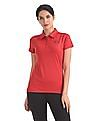 U.S. Polo Assn. Women Solid Active Polo Shirt